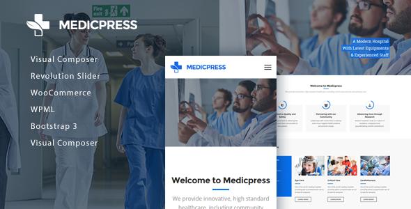 قالب MedicPress - قالب وردپرس سلامتی و پزشکی