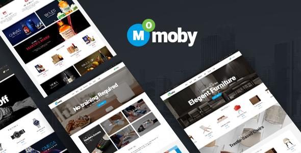 Moby - قالب چند منظوره وردپرس