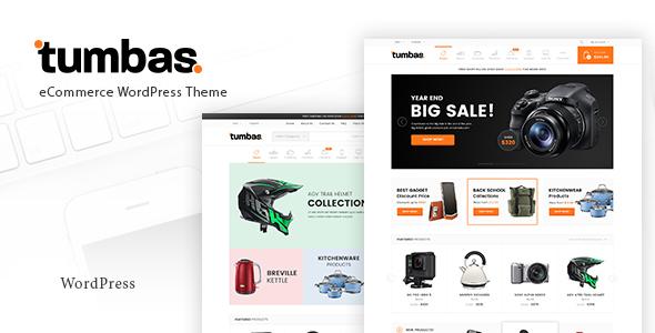 قالب Tumbas - قالب وردپرس فروشگاهی