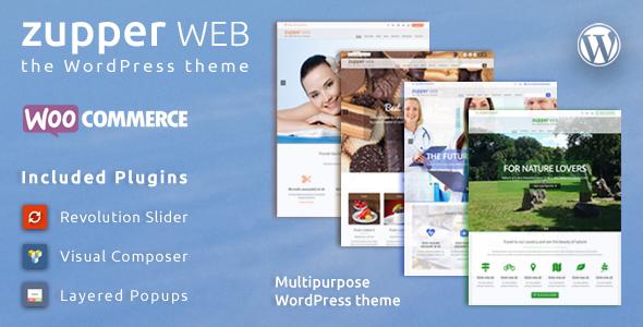 قالب Zupper web - قالب فروشگاهی وردپرس چند منظوره