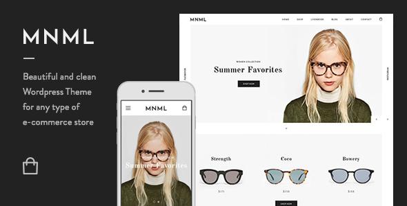قالب Mnml - قالب فروشگاهی مینیمال