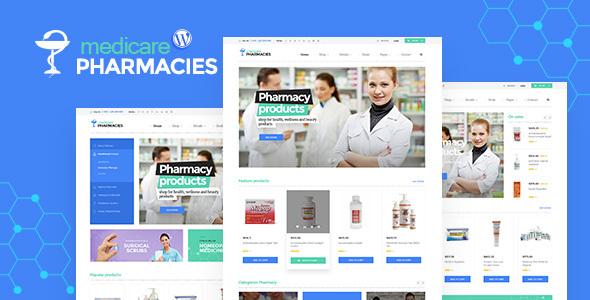 قالب Medicare Pharmacies - قالب سایت بهداشت و درمان وردپرس