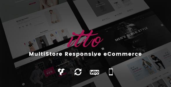 قالب Itto - قالب وردپرس فروشگاه چند فروشنده ای