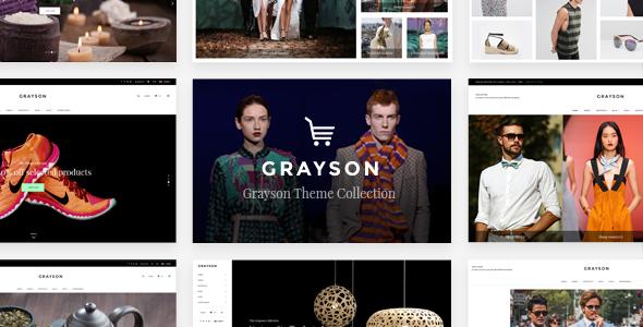 قالب Grayson - قالب وردپرس فروشگاهی شیک