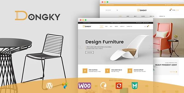 قالب VG Dongky - قالب وردپرس مینیمال و ساده فروشگاهی