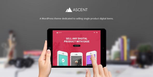 قالب Ascent - قالب وردپرس فروش فایل