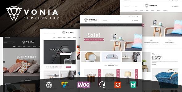قالب VG Vonia - قالب فروشگاهی ساده و مینیمالیست