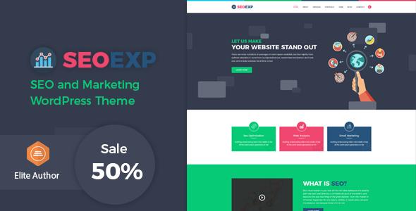 قالب Seoexp - قالب وردپرس سئو و بازاریابی