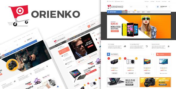 قالب اورینکو | Orienko - قالب فروشگاهی وردپرس