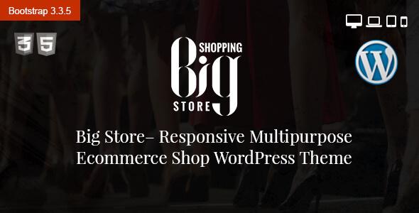 قالب Big Store - قالب فروشگاهی چند منظوره