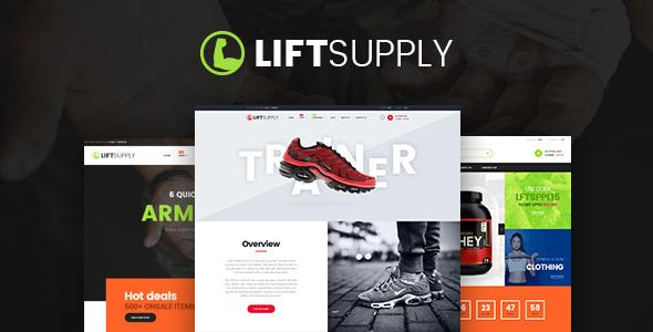 قالب LiftSupply - قالب وردپرس فروشگاهی تک محصول