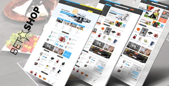 قالب VG BetaShop - قالب وردپرس سایت فروش لوازم آشپزخانه