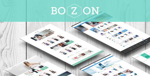 قالب Bozon - قالب فروشگاهی چند منظوره