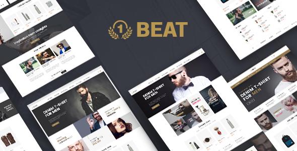 Beatshop - قالب وردپرس فروشگاهی خلاقانه