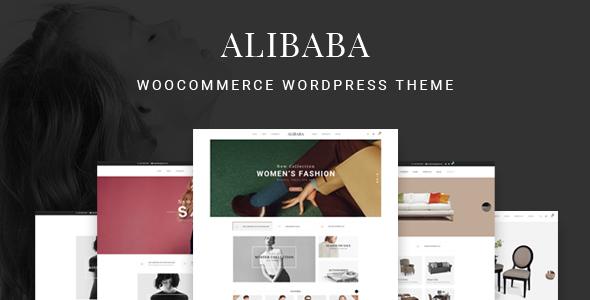 قالب Alibaba - قالب ووکامرس مبلمان