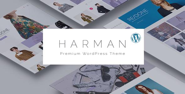 Harman - قالب فروشگاهی وردپرس چند منظوره