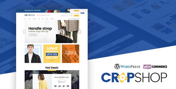 قالب Cropshop - قالب وردپرس ووکامرس مد
