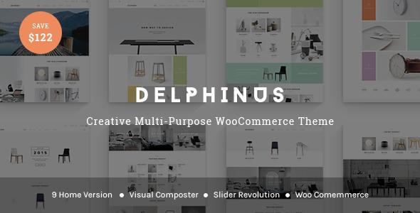 قالب Delphinus - قالب وردپرس سلامتی و زیبایی
