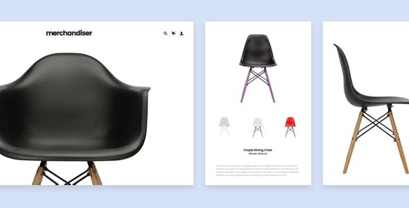 Merchandiser - قالب فروشگاهی حرفه ای وردپرس