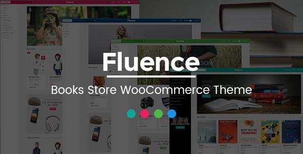 قالب Fluence - قالب وردپرس فروشگاه کتاب