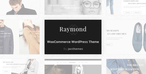 قالب Raymond - قالب وردپرس فروشگاهی