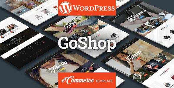 قالب GoShop - قالب فروشگاهی چند منظوره