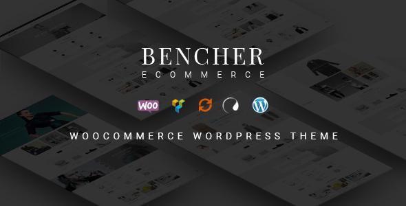 قالب Bencher - قالب وردپرس فروشگاهی