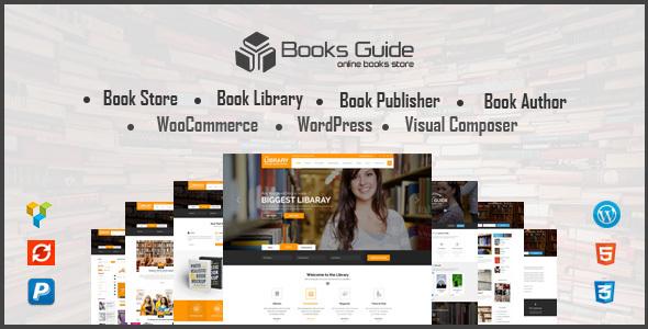 قالب Book Store WordPress Theme - قالب وردپرس فروشگاه کتاب