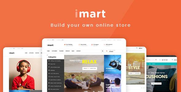 قالب iMart - قالب فروشگاهی چند منظوره