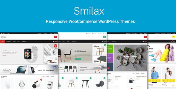 قالب Smilax - قالب فروشگاهی چند منظوره وردپرس