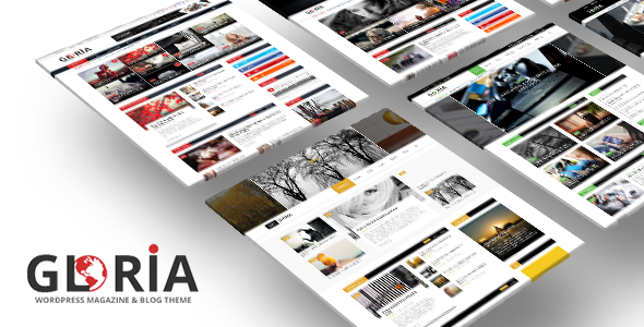 قالب Gloria - قالب وردپرس مجله و روزنامه