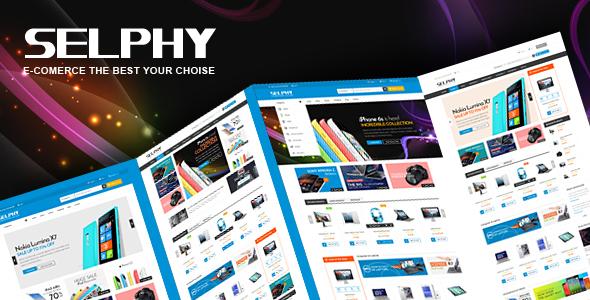 قالب VG Selphy - قالب وردپرس فروشگاهی
