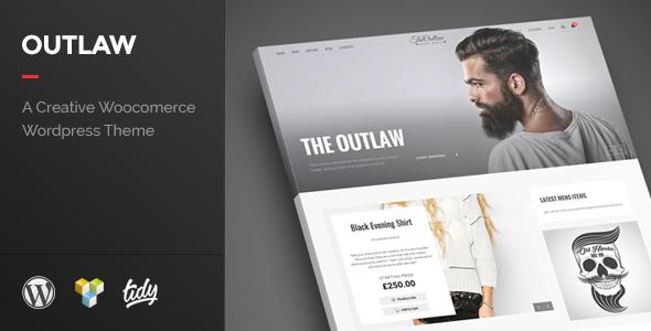 قالب Outlaw - قالب فروشگاهی وردپرس شیک