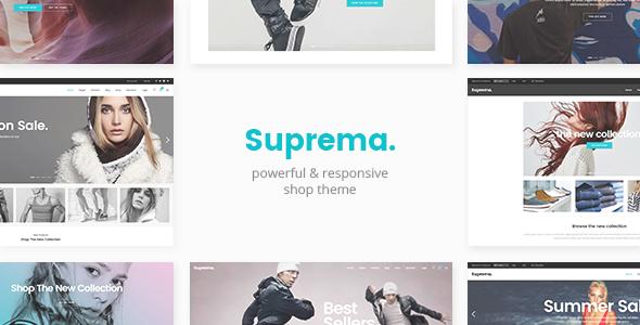 Suprema - قالب فروشگاهی چند منظوره