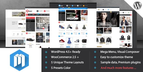 قالب VG Matalo - قالب وردپرس برای فروشگاه آنلاین