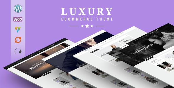 قالب Luxury - قالب فروشگاهی وردپرس