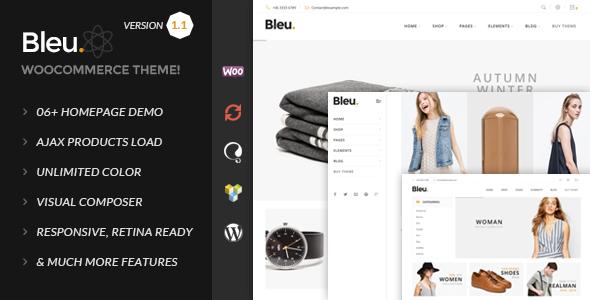 قالب Bleu - قالب وردپرس مد و فشن