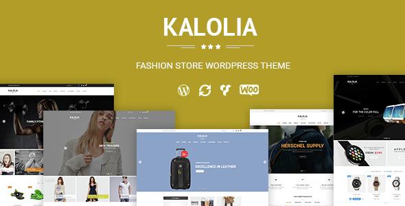 SNS Kalolia - قالب فروشگاهی وردپرس