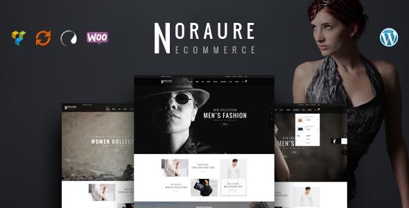 قالب Noraure - قالب وردپرس فروشگاهی
