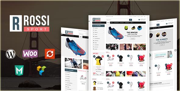 قالب VG Rossi - قالب وردپرس فروشگاهی