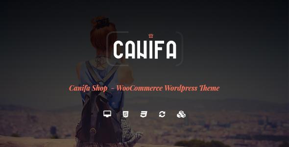 قالب Canifa - قالب وردپرس فروشگاه مد