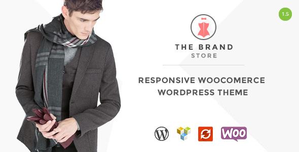 قالب The Brand - قالب وردپرس فروشگاهی