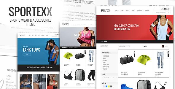 Sportexx - قالب وردپرس ورزشی و باشگاه مد
