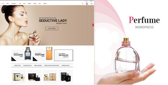 قالب Perfume - قالب وردپرس ووکامرس