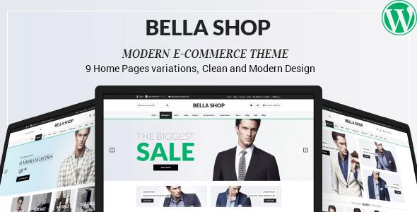 قالب Bella - قالب وردپرس فروشگاهی