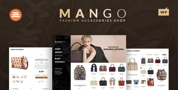 قالب Mango - قالب وردپرس سلامتی و زیبایی