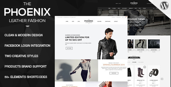 قالب Phoenix - قالب وردپرس فروشگاهی