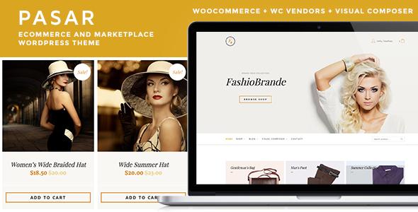 قالب Pasar - قالب وردپرس فروشگاه اینترنتی
