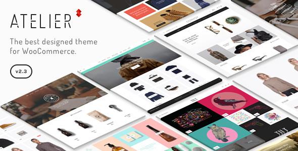 Atelier - قالب فروشگاهی چند منظوره خلاقانه