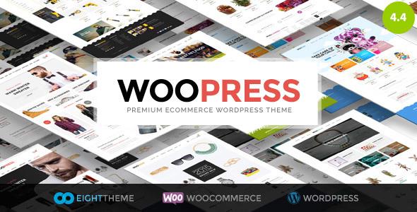 قالب WooPress - قالب وردپرس فروشگاهی ریسپانسیو